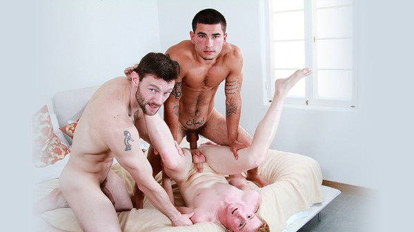 Watch Vadim Black, Dennis West, Dylan Bridges in I Bred My New Stepdad Part #3, Scene 1