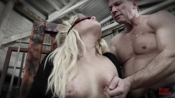Blonde beauty Dahlia Sky gets dominated