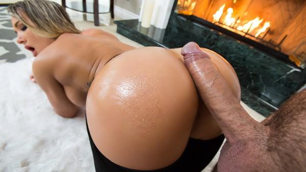 Fireside Fap - Brazzers Porn Scene
