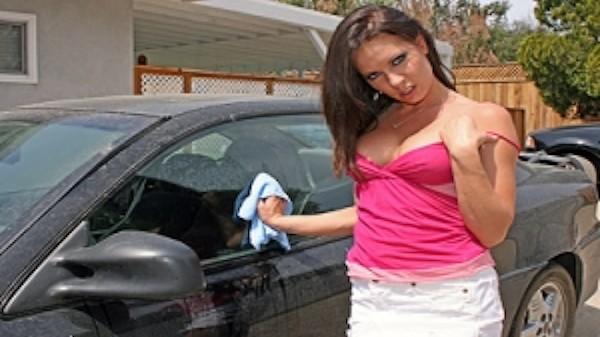 Car Wash - Brazzers Porn Scene