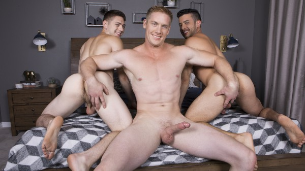 Watch Jax, Manny & Lane : Bareback on Male Access - All the Best Gay Porn in One place