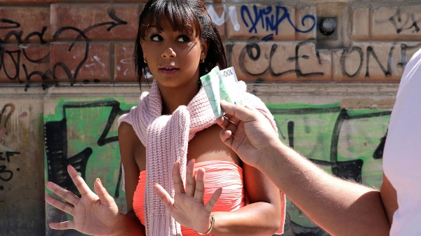 Watch Isabella Chrystin in Tanned Honey Gets Picked Up