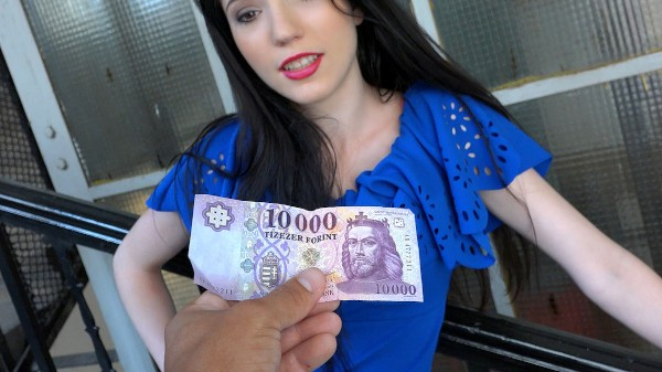 Watch Mia Evans in Raven Haired Euro Chick Gets Banged
