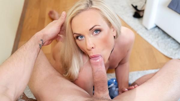 Czech blonde fucks eager boyfriend at SexyHub.com