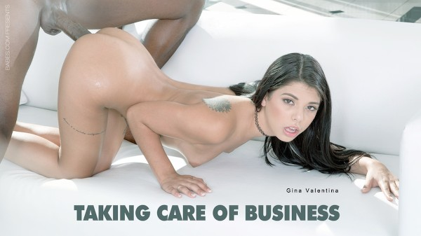 Taking Care Of Business Elite XXX Porn 100% Sex Video on Elitexxx.com starring Gina Valentina, Flash Brown
