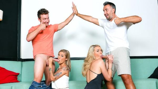 Converting Lesbians - Van Wylde, Keira Nicole, Keiran Lee, Kleio Valentien