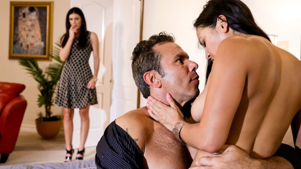 The Swinger #04 Scene 2 Porn DVD on Mile High Media with Adrianna Luna, Steven St. Croix