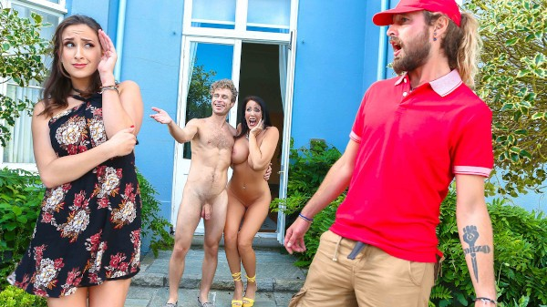 Meet The Nudists Part 2 - Michael Vegas, Ashley Adams, Reagan Foxx