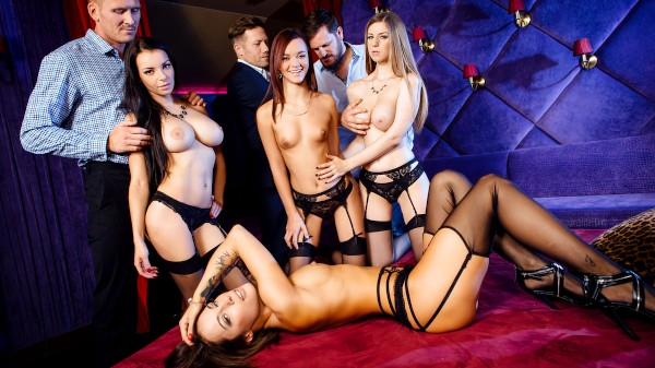A French Affair - Scene 4 - Nikita Bellucci, Marc Rose, Stella Cox, Lea Guerlin, Yanick Shaft, Freddy Fox, Sophia Laure