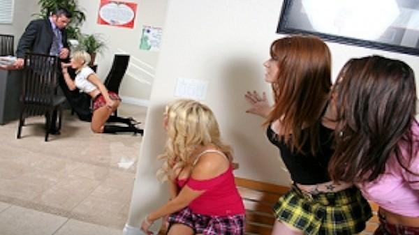 Punishment the old school way - Brazzers Porn Scene