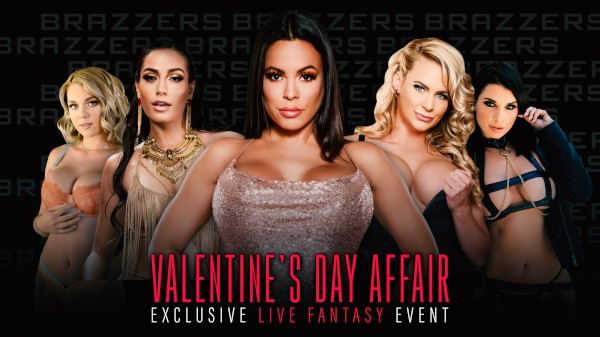Brazzers LIVE: Valentine's Day Affair - Brazzers Porn Scene