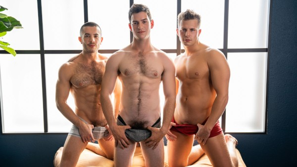 Watch Nixon, Archie & Manny: Bareback on Male Access - All the Best Gay Porn in One place