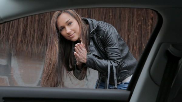 Watch Victoria Sweet in Brunette Gets in a Stranger's Car