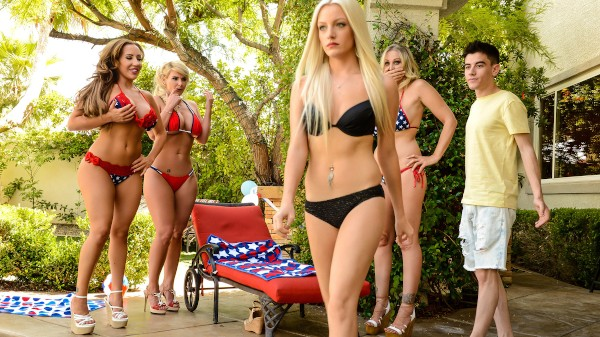 Cumming To America - Brazzers Porn Scene