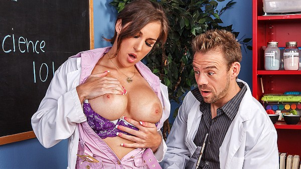 They Have Chemistry - Brazzers Porn Scene