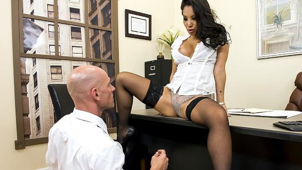 Boning my Boss - Brazzers Porn Scene