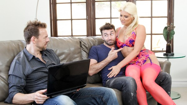 DP My Wife With Me #08 Scene 1 Porn DVD on Mile High Media with Erik Everhard, James Deen, Layla Price
