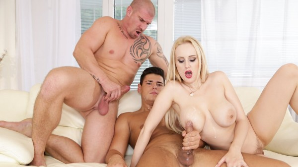 CUMSHOT My Parents Fucked My Boyfriend Scene 5 Bisexual Orgy on Bi Empire with Angel Wicky