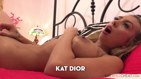 Sexy Latina MILF Kat Dior cheats on her husband with the hot gardener