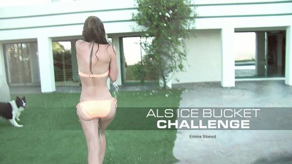 ALS Ice Bucket Challenge - Emma Stone - Babes