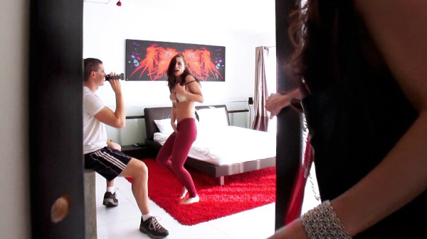 Watch Aidra Fox, India Summer in Babysitter's Private Striptease Lessons