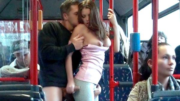 Watch Bonnie Shai in Public Sex City Bus Footage