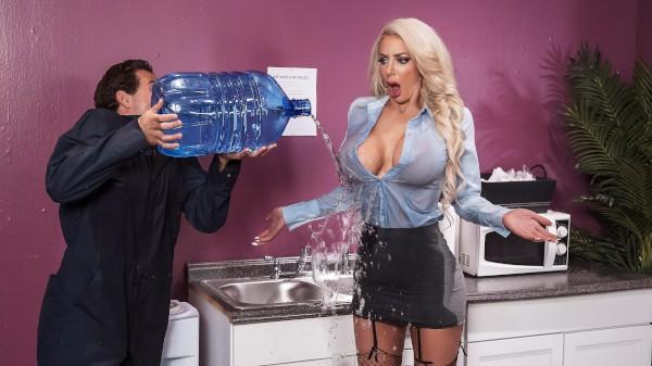 Water Cooler Cock - Brazzers Porn Scene