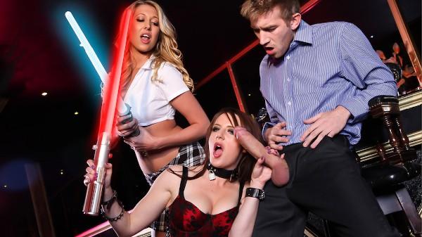 Slut Wars: The Vagina Squirts Back - Brazzers Porn Scene