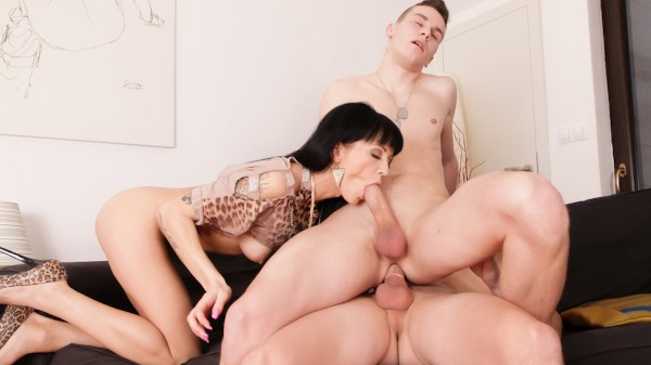 Bi Sexual Cuckold #05 Scene 1 Bisexual Orgy on Bi Empire with Adele Sunshine