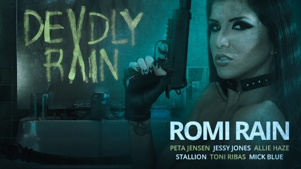 Deadly Rain - Mick Blue, Peta Jensen, Toni Ribas, Jessy Jones, Romi Rain, Allie Haze, Stallion