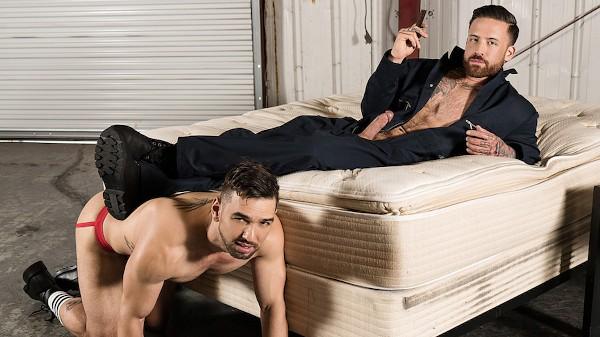 Watch Lucky Daniels, Jordan Levine in Warehouse Chronicles: Smoking Lounge, Scene 1