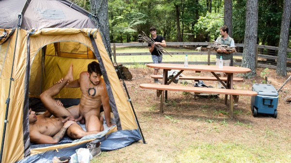 Enjoy Intense In Tents on Twinkpop.com Featuring Dante Colle, Ty Mitchell