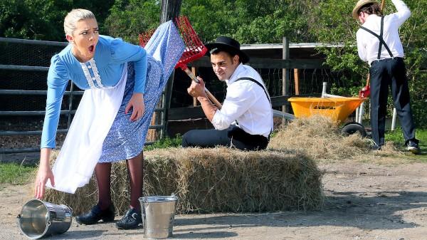 Amish Girls Go Anal Part 2: Saving My Virginity - Tiffany Watson, Derrick Ferrari