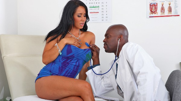 Watch Lexington Steele, Isis Love in Doctor Cures All!
