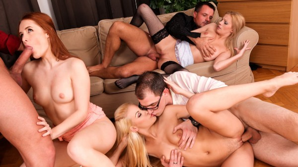 5 Incredible Orgies Scene 4 Porn DVD on Mile High Media with Denisa Heaven, Bella Karina, Neeo, Yenna Love
