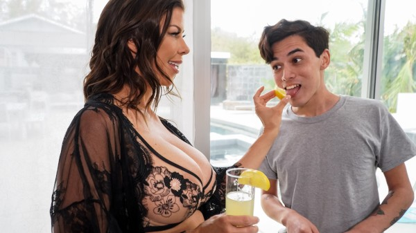 Enjoy Lemonade on Milfed.com Featuring Alexis Fawx, Juan El Caballo Loca