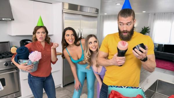 Smashing My Hot Lesbian Roommates - Brazzers Porn Scene
