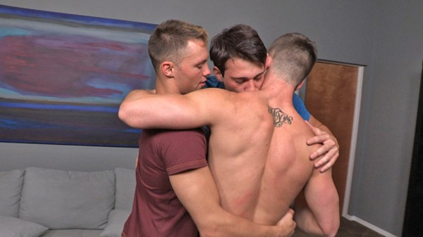 Watch Dane, Grayson & Jarek: Bareback on Male Access - All the Best Gay Porn in One place