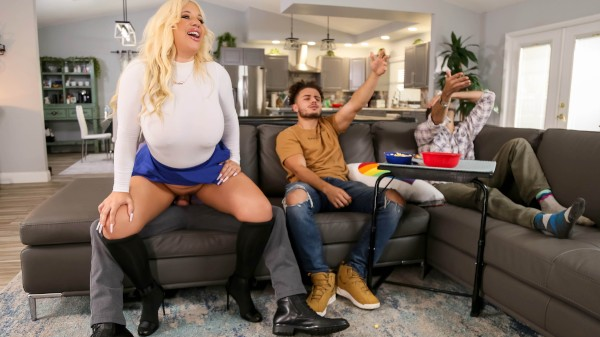 Take A Seat On My Cock - Brazzers Porn Scene