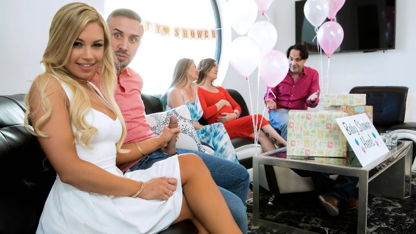 Busted At The Babyshower - Brazzers Porn Scene