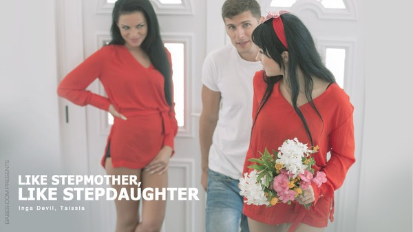 Like Stepmother, Like Stepdaughter - Taissia Shanti, Kristof Cale, Inga Devil - Babes