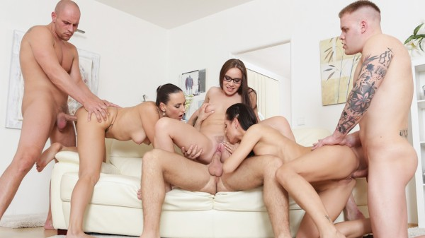 Swingers Orgies #12 Scene 1 Porn DVD on Mile High Media with Mea Melone, Kari, Wendy Moon