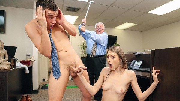 Kyler's Office Quickie Hardcore Kings Porn 100% XXX on hardcorekings.com starring Johnny The Kid, Kyler Quinn