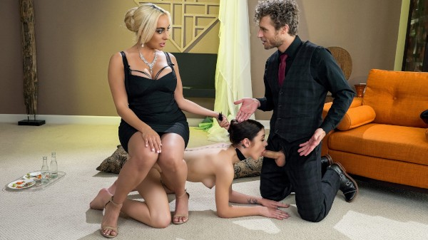 Sit On It featuring Michael Vegas, Rosalyn Sphinx, Kylie Kingston - Reckless In Miami Scene