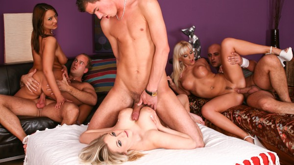 Orgy Initiations #04 Scene 3 Porn DVD on Mile High Media with Cindy Dollar, Darina, Marcel Lee, Neeo, Chantal Ferrara