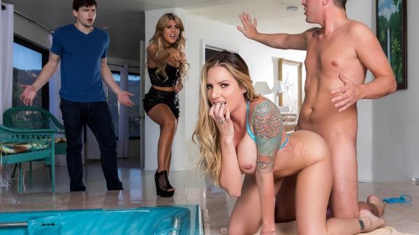 Sister Swap: Part 2 - Brazzers Porn Scene
