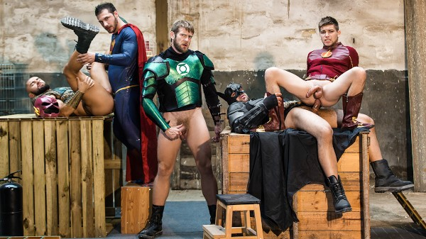 Just Dick League : A Gay XXX Parody Part 4 - feat Brandon, Johnny Rapid, Ryan Bones, Colby Keller, Francois Sagat