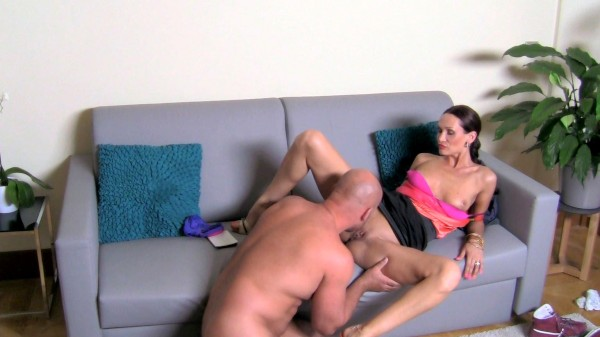 Bald Stud Gives Agent's Pussy A Proper Fucking ft Cynthia Vellons - FakeHub.com