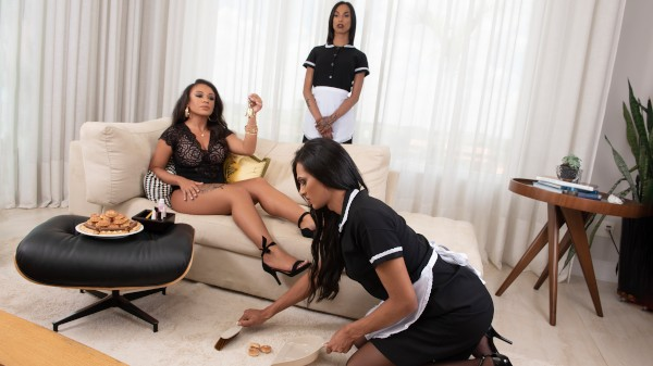 Watch The Maid Needs A Maid featuring Bruna Dior, Vitoria Prado, Jessyca Arantes Transgender Porn