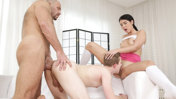 Dad's Dick 101 Bisexual Orgy on Bi Empire with Lady Dee